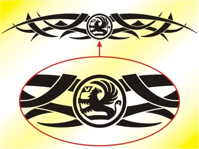 2012 Ford Focus Tattoos - Picture 3. These Tribal Tattoos are made from high